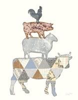 Farm Sweet Farm Element V Fine Art Print