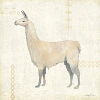 Llama Land VI Fine Art Print