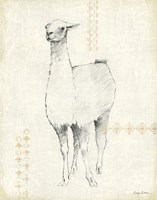 Llama Land XII Fine Art Print