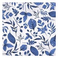 Indigo Foliage Fine Art Print