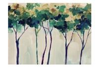 Creamy Trees Fine Art Print