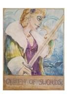 Queen Of Swords Fine Art Print
