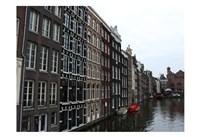 Damrak Amsterdam 2 Fine Art Print