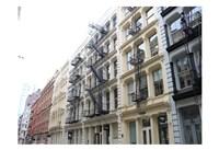 Houses Soho Newyork Fine Art Print