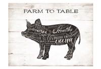 Pig Words Fine Art Print