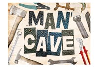 Man Cave Tools Fine Art Print
