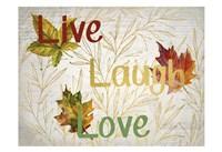 Sentimental Leaves Fine Art Print