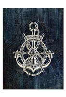Inverted Anchors Away 2 Fine Art Print
