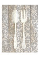 Antique Cutlery 1 Fine Art Print