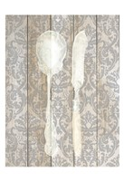 Antique Cutlery 2 Fine Art Print