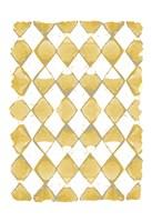 Painted Pattern Mustard 2 Fine Art Print