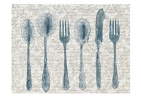 Country Table Setting Fine Art Print