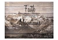 Move Mountains Fine Art Print