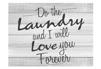 Do the Laundry Fine Art Print
