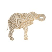 Elephant Gold 2 Fine Art Print