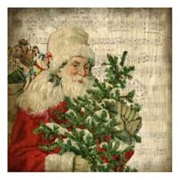 Vintage Santa 2 Fine Art Print