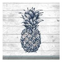 Country Pineapple 1 Fine Art Print