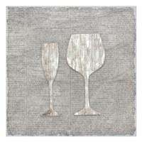 Neutral Wine 3 Fine Art Print