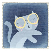 Quirky Cats 1 Fine Art Print