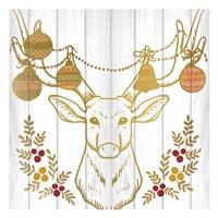 Christmas Antlers Fine Art Print