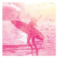 Surfer Girl 2 Fine Art Print