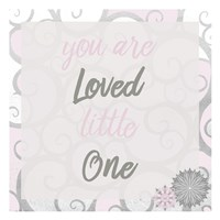 You Are Loved Pink Fine Art Print