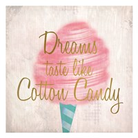 Cotton Candy 1 Fine Art Print