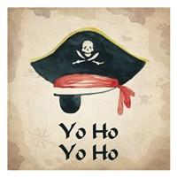 Yo Ho Yo Ho 1 Fine Art Print