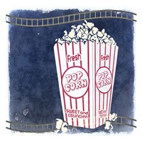 Movie Time 2 Fine Art Print