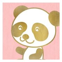 Pink Panda 2 Fine Art Print