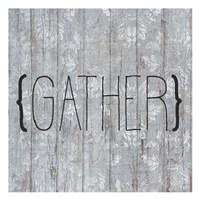 Gather sq Fine Art Print
