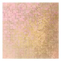 Blush Squares Fine Art Print