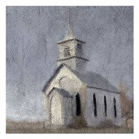Country Church Fine Art Print