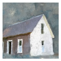 Schoolhouse Grey Fine Art Print
