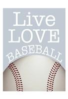Baseball Love Fine Art Print
