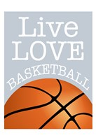 Basketball Love Fine Art Print
