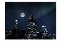 Moon Embraced Los Angeles Fine Art Print