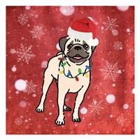 Pug Cheer Fine Art Print