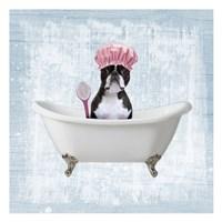 Bath Giggles 2 Fine Art Print
