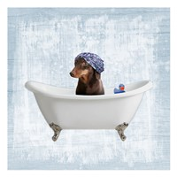 Bath Giggles 3 Fine Art Print