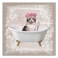 Kitty Baths 1 Fine Art Print