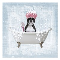 Bath Time Bubbles 2 Fine Art Print