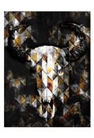 Tri Bull Fine Art Print