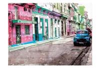 Road To Havana Fine Art Print