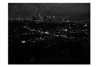 LA Nightlife Fine Art Print