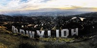 Hollywood View Fine Art Print