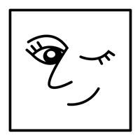 Winky Face Fine Art Print