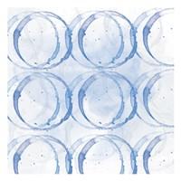 Indigo Circles 1 Fine Art Print