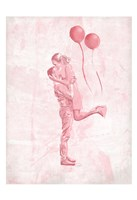 Hug In The Blush Fine Art Print