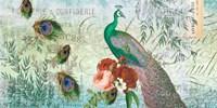 Peacock Green 1 Fine Art Print